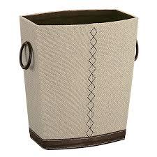 Bathroom Waste Basket by Organize It All 53585w 1 Riviere Wastebasket The Mine