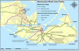 Ma Map Nantucket Bike Paths Nantucket Ma Official Website