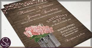 Rustic Invitations Rustic Tin Can Wedding Invitations