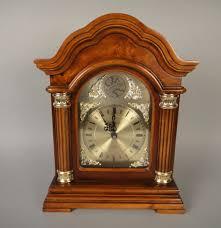 Linden Mantel Clock Tempus Fugit Westminster Mantel Clock Ebth