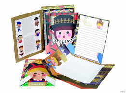 letter writing paper sets sweet retro letter sets from disney homes and antiques when we saw these classic disney it s a small world themed stationery sets we couldn t resist sharing them released to celebrate the popular it s a