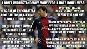 I Hate People Meme - i don t understand why people hate lionel messi fansfoot you
