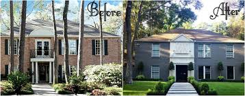 house makeover incredible home exterior image gallery brick house exterior makeover