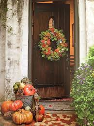 Fall Harvest Outdoor Decorating Ideas - 259 best fall porches front and back images on pinterest fall