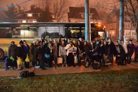 Buses To Six Flags Nj Montclair Residents Fill Buses Bound For Women U0027s March On