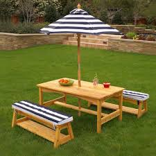 Patio Furniture Set With Umbrella - kids outdoor furniture kidkraft
