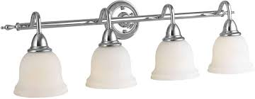 4 Light Fixtures World Imports 838408 Montpellier Chrome 4 Light Bathroom Vanity