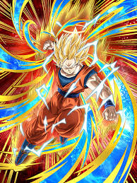 returning otherworld super saiyan 2 goku angel dragon