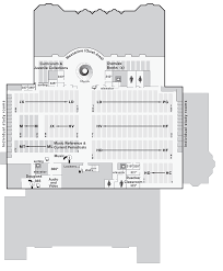 Map Of University Of Oregon by Map Uo Knight Library Third Floor Uo Libraries