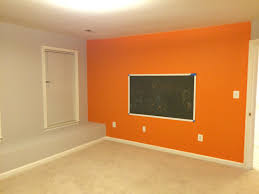 How To Paint An Accent Wall by How To Choose A Paint Color For Your Basement
