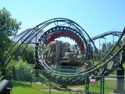 Six Flags Great America New Ride Demon Roller Coaster Wikipedia