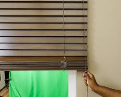 how to install wood blinds and faux wood blinds the finishing touch
