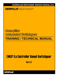 caterpillar switchgear training manual 3 s switch power