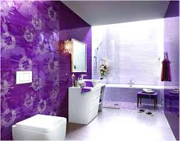 abstrack wall painting tile bathroom backsplash small bathroom
