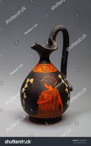Greek Motifs Oil Cruet Painted Greek Motifs Stock Photo 182602898 Shutterstock
