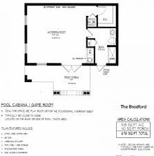 pool house floor plans apartments guest house plans with garage pool guest house plans