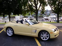 automotive trends 2005 chrysler crossfire roadster