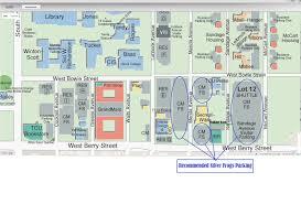 tcu parking map tcu extended education