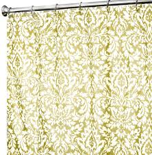 Yellow Damask Shower Curtain Fabric Shower Curtains In Our Fabric Or Yours