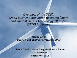 bureau olier relook manny oliver director doe sbir sttr programs office overview of the