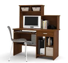 Bestar Desk Active By Bestar Computer Workstation In Tuscany Brown Walmart