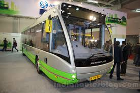 volkswagen electric bus ashok leyland optare versa electric bus to launch by 2017