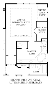 Master Bedroom Bath Floor Plans Toll Brothers At Inspiration Broomfield Collection The