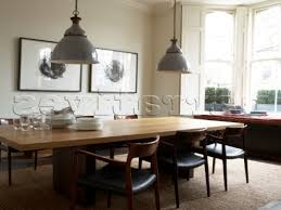 contemporary dining room grey simple beautiful table decoration