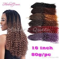 pre braided crochet hair 2017 cheap 16inch pre flashy curly senegalese twist crochet braids