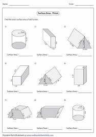 surface area cylinder worksheet free worksheets library download