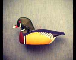 duck ornament etsy