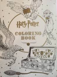 scholastic u0027s official harry potter coloring book leaky