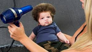 ten year ild biy hair styles meet the 9 week old baby who s going viral for his full head of
