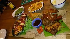cuisine libre surf an turf platter picture of lucha libre liverpool tripadvisor