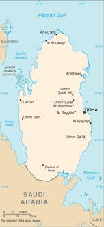 cities map list of cities in qatar