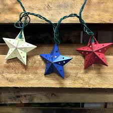 Novelty String Lights by Country Barn Star String Lights Novelty Party Lights