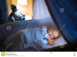 Free Baby Canopy by Baby Boy Sleeping At Night Stock Photo Image 75757075