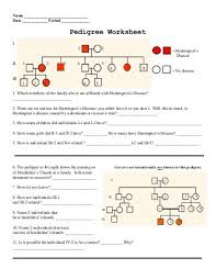 genetics practice problems pedigree tables free worksheets library download and print worksheets free on