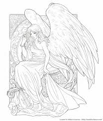 147 angels color images coloring books