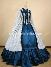 Southern Belle Halloween Costume Striped Cotton Southern Belle Costume Medieval Civil War Victorian
