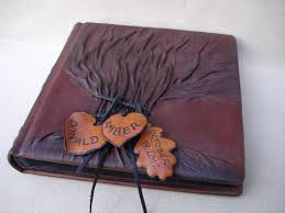 personalized leather photo album leather photo album tree of wedding photo album