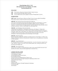 Sample Athletic Resume by Coach Resume Template 7 Free Word Excel Documents Download
