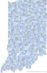 Fort Wayne Zip Code Map by Richmond Indiana Zip Code Map Zip Code Map