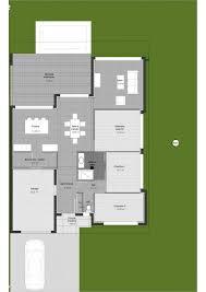 plan maison contemporaine plain pied 3 chambres plan maison de plain pied 3 chambres 13 plan maison contemporaine