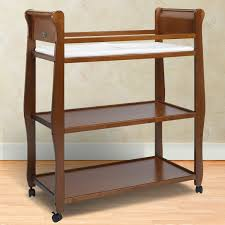 Graco Crib With Changing Table Graco Sarah Changing Table In Cinnamon Free Shipping 115 00