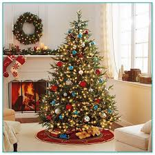 best artificial trees best artificial christmas trees with led lights