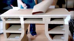 how to make a cardboard drawer diy furniture youtube