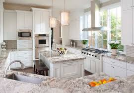 giallo ornamental light granite white cabinets home design