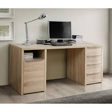 bureau cdiscount calpe bureau chêne sonoma l 160 cm achat vente bureau calpe