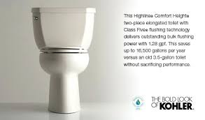 Comfort Height Toilet Reviews Toilet Alternate View Kohler Highline Dual Flush Elongated